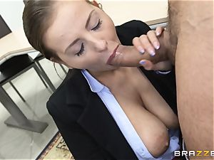 jaw-dropping Candy Alexa plumbs a stud college girl